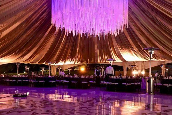 10 lienzos y plafones para carpas, que querrás tener en tu boda